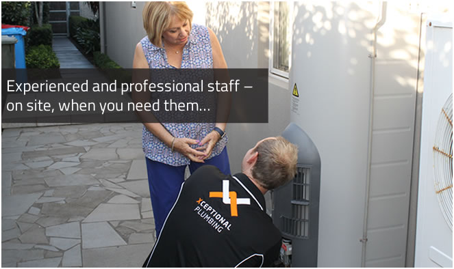 experienced and professional staff